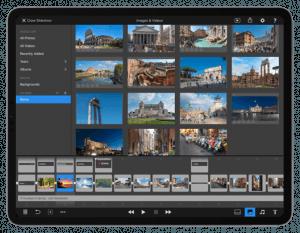 FotoMagico iPad Screen